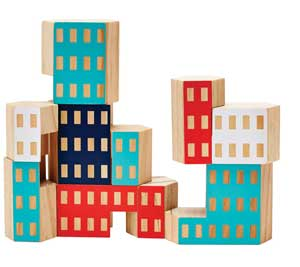toy buildings
