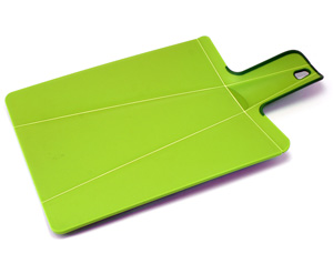 chopping board with folding edges