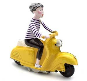 vespa wind up toy