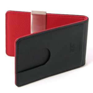 money clip on wallet