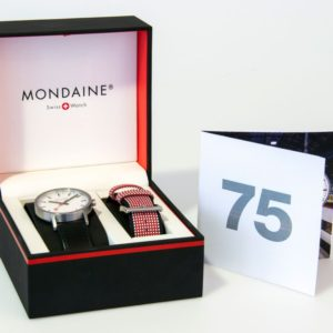 mondaine watch gift pack